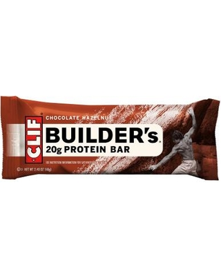 Clif Builders Bar Chocolate Hazelnut Bar - 12ct
