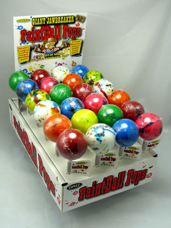 Paintball Pops - 24ct