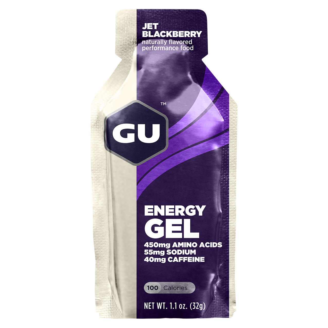 GU Energy Gel Jet Blackberry - 24ct