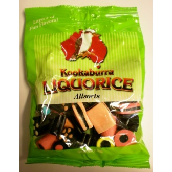 Kookaburra Licorice Allsorts 6oz