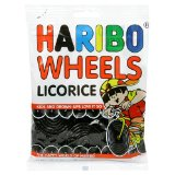 Haribo Licorice Wheels 5oz