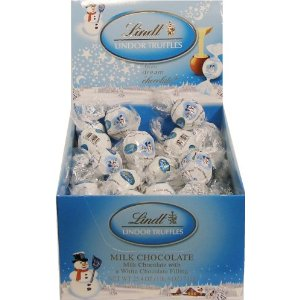 Lindor Milk Choc/White Choc Filling - 60ct