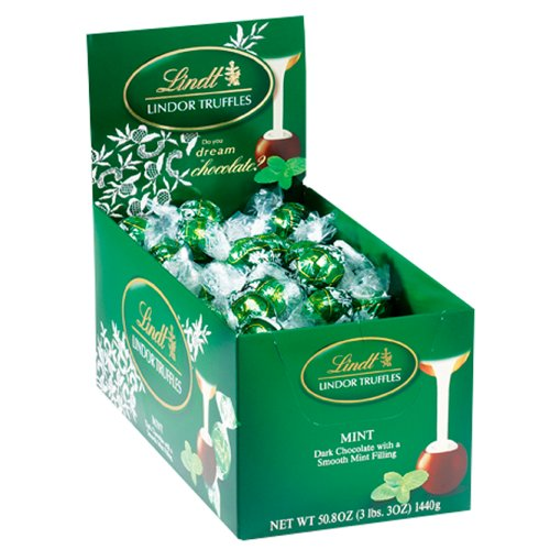 Lindor Chocolate Mint Truffles - 60ct