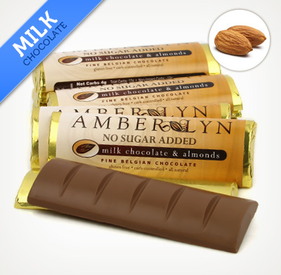 Amber Lyn Milk Chocolate Amond - 15ct