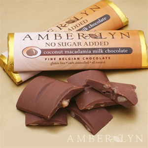 Amber Lyn Milk Macadamia Coconut Chocolate - 15ct