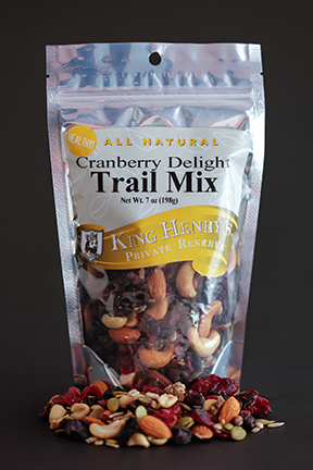 King Henry's Natural Cranberry Delight Trail Mix