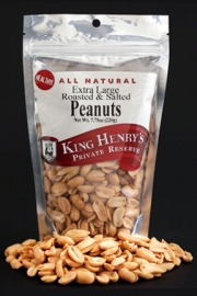 King Henry's Natural Peanuts