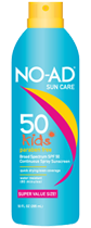 SPF50 Continuous Spray Kids