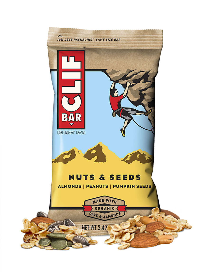 Clif Bar Nuts and Seeds - 12ct