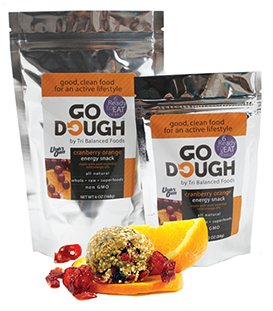 Go Dough Cranberry Orange 6oz
