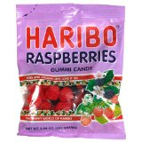 Haribo Raspberries 5oz