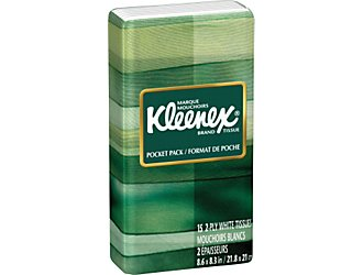 Kleenex Facial Tissue Travel Pack