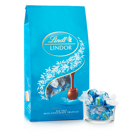 Lindor Sea Salt Truffles - 60ct