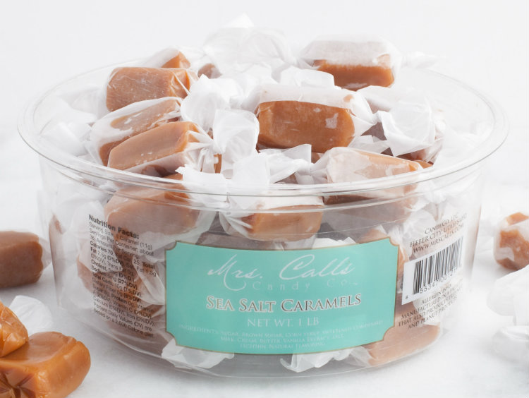 Mrs Call's Sea Salt Caramels
