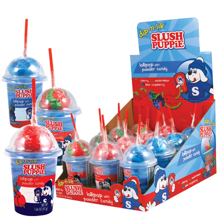 Slush Puppies Dip-n-lik - 12ct