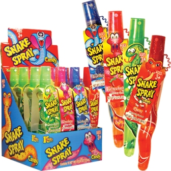 Snake Spray Candy