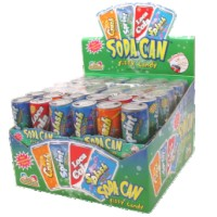 Soda Can Six-Pack Candy - 12ct