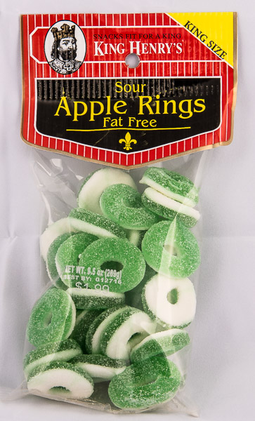 King Henry's Sour Apple Rings