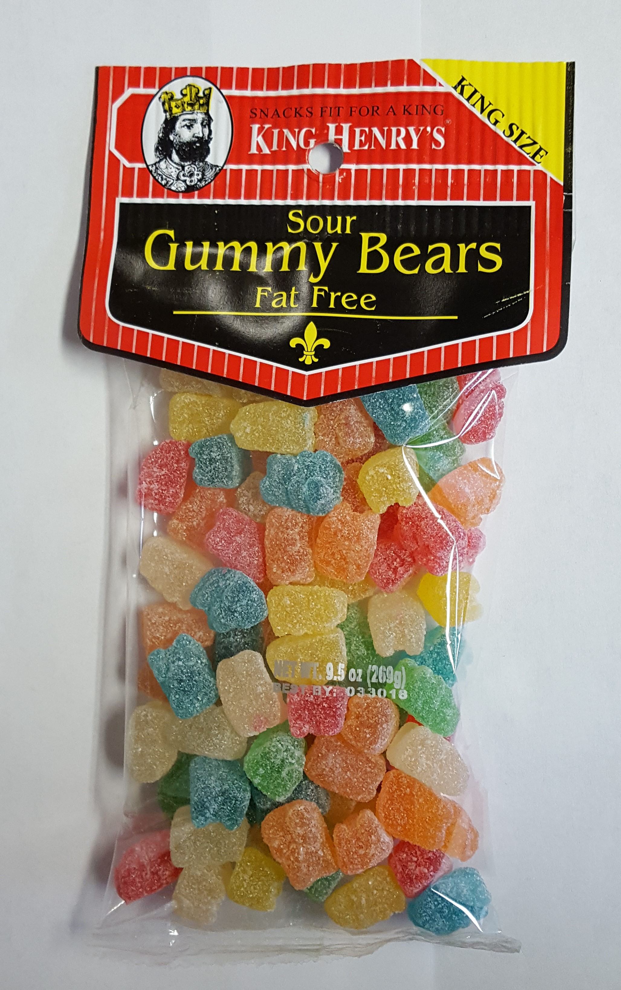 King Henry's Sour Gummy Bears