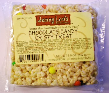 Janey Lou Rice Crispy Treat M&M's