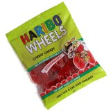 Haribo Strawberry Wheels 5oz