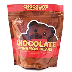 Sweet's Milk Chocolate Cinnamon Bears 5 oz bag