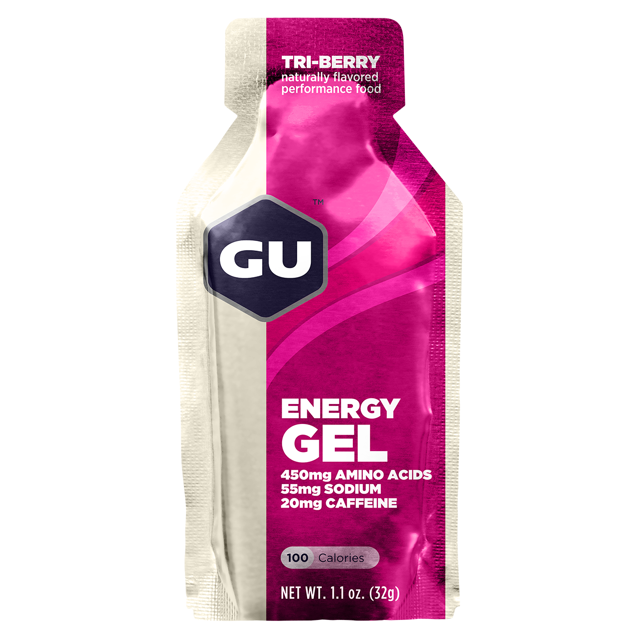 GU Energy Gel Tri Berry - 24ct