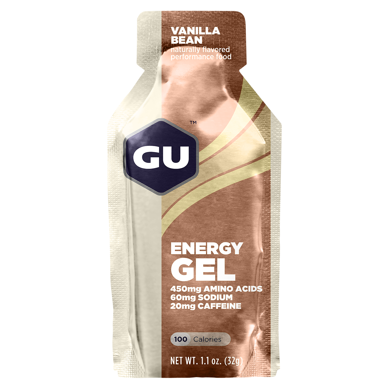 GU Energy Gel Vanilla Bean - 24ct