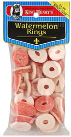 King Henry's Watermelon Rings
