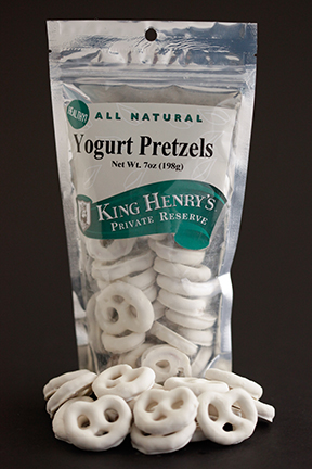 King Henry's Natural Yogurt Pretzels